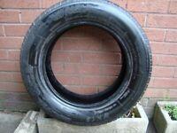 195 65 15 - 15 inch car tyre part worn good tread £5