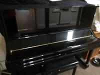 Black Glass Yamaha U3S Piano