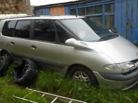 Bare engine 2.2TD only WORKING BREAKING parts Renault Grand Espace silver 2000 Diesel mkiii