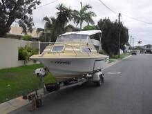 Half Cabin boat for restoration. Make an offer Gold Coast Region Preview