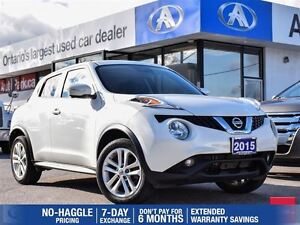 2015 Nissan Juke SL | AWD | NAV | LEATHER | BACKUP CAM In Toront