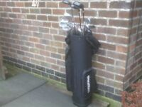 GOLF SET WITH BAG £25