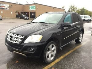 2011 Mercedes-Benz M-Class ML350 BlueTEC 4MATIC / WITH NAVI. & B