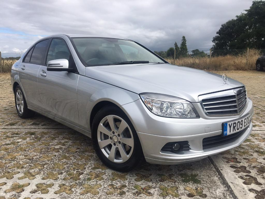 2009 mercedes benz c class c200 diesel full service history long mot in southend on sea. Black Bedroom Furniture Sets. Home Design Ideas