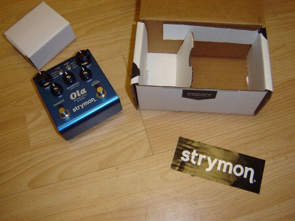 Strymon Ola dbucket Chorus Vibrato Pedal Boxed