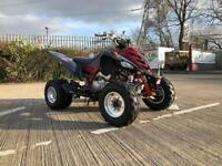 Yamaha raptor 700r quad bike