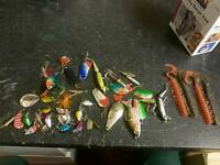 Lures for pike perch chub