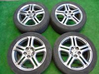 "HONDA ODYSSEY 18"" ALLOY WHEELS 5x120 FITMENT"