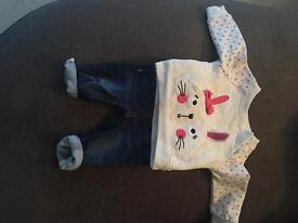 Primark early days 0-3 months outfit (used once)