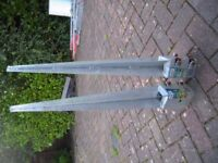 galvinised fence post anchors
