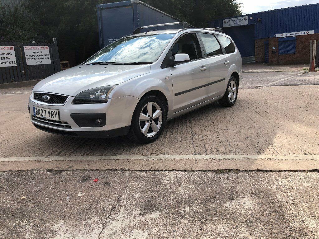 2007 (07) Ford Focus 1.6 Zetec Estate Only 1 Owner From New Petrol Manual  Gearbox Drives Like New