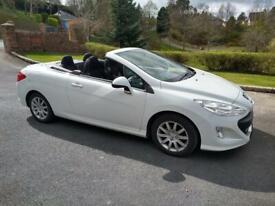 image for Convertible White 308cc Sport Peugeot full year mot