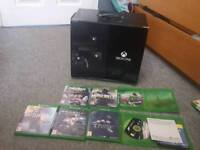 Xbox 1 and 7 games