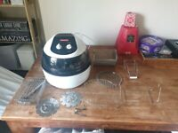Cookware Kings Air Fryer HA-04B & Accessories Set used.in good condition and fully working