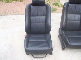 leather seats from honda suit campervan