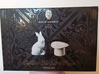 M&S Rabbit and Top Hat salt & pepper set boxed