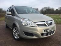 Vauxhall Zafira 1.6 i 16v Exclusiv 7 Seater