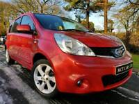 2010 Nissan Note 1.4 N-Tec, Top Spec! Sat-Nav! Only One Owner From New! MOT August 2018! FINANCE