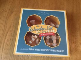Wooden set of puzzles - calling all clever cloggs