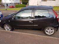 Fiat Punto 1.2 petrol 04 3 door 1 years mot £550ono