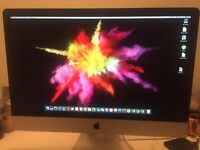 iMAC 27INCH i5 Immaculate condition box included.Late 2013 version.
