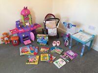 Little girl toy bundle