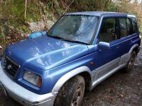 Suzuki Vitara for Spares or Repairs
