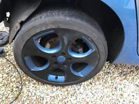 Golf mk5 alloy wheels and tires