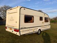 Abbey vogue GTS 2003 fixed bed/motor mover/awning excellent condition