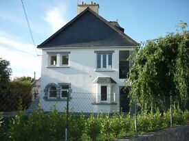6 Bedroom house (includes 2 bedroom apartment) next to the sea, Concarneau, Brittany, France
