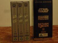 Star Wars Trilogy (VHS tapes)
