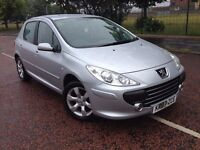 2007 Peugeot 307 Sport 1.6 , finance from £20 a week , only 48,000 miles 2 owners,astra,focus,megane