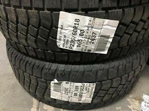 235/60/18 Avalanche X-Treme *Winter Tires*