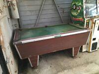 Pool table for refurb or scrap