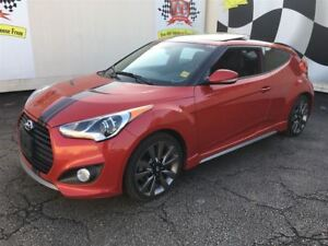 2015 Hyundai Veloster Turbo, Automatic, Leather, Sunroof,