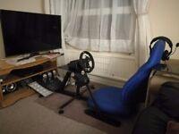 Logitech G290 Steering wheel, pedals + shifter (Xbox PC Racing sim)