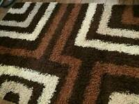 VERY LARGE THICK PILE RUG, EXCELLENT CONDITION