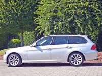 bmw 3 series 320 diesel estate 2012 model low miles woman owner fully loaded ,