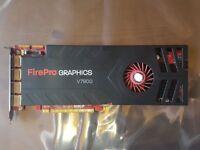AMD FirePro V7900 2GB (2048 MB) Professional / Workstation Graphics Video Card