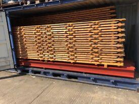 8 x 5.6m RSJ / Universal Beams - 203 x 133 x 30 (30kg/m)