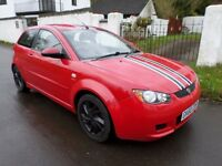 2011 PROTON SATRIA 1.6 PETROL/GAS MOT-MARCH 2018 LOVELY LOOKING CAR HALF LEATHER/SUEDE INTERIOR