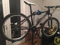 Carrera mountain bike .