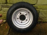 Ifor Williams trailer wheel