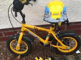 Boys apollo digger Bike from Halfords