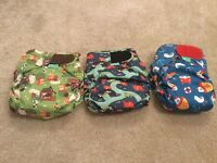 Brand new Totbots Stars, v4 Frugi, Bambino Mio, Wraps, Bamboo boosters, Fleece liners