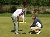 Golf lessons with Dean Davis Professional Golfer at The Oxfordshire Golf Club, Thame