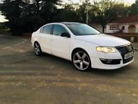 PASSAT 2005-1.9 DIESEL SPORTS-WHITE-SUNROOF-HEATED SEATS-FULLY CLEAN-ALLOYS-START RUNS LIKE ROOF