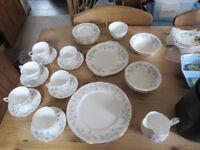 Bone China Duchess Tranquillity plates, cups etc