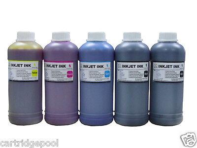 5x500ml Refill Ink For Canon Pfi-102 Ipf500 Ipf510 Ipf600...