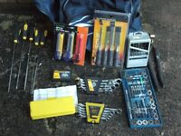 as the photos a job lot of hand tools
